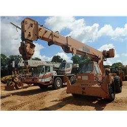 GALION 150A ROUGH TERRAIN CRANE, VIN/SN:11404 - 3 SECTION POWER BOOM, 15T MAX LOAD, 2 SHEAVE HOOK BL