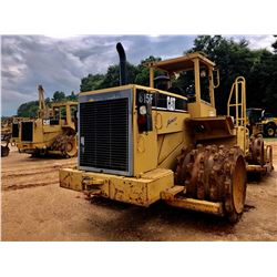 CAT 815F COMPACTOR, VIN/SN:1GN00328 - BLADE, CANOPY, METER READING 2,838 HOURS (SIMS REPORT IN OFFIC