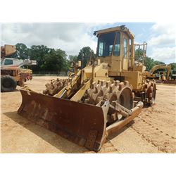 CAT 815B COMPACTOR, VIN/SN:17Z01613 - BLADE, CAB, METER READING 10,644 HOURS