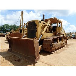 CAT D9H CRAWLER TRACTOR, VIN/SN:97U11652 - CUSHION BLADE ,SINGLE CHANK,REAR RIPPER,CANOPY,METER READ