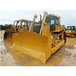 CAT D6R XW CRAWLER TRACTOR, VIN/SN:DMP00131 - SEMI-U BLADE W/ TILT, CAB, A/C, METER READING 7,913 HO