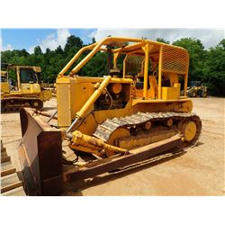 DRESSER TD20B CRAWLER TRACTOR, VIN/SN:21341 - STRAIGHT BLADE W/TILT, CARCO C-80 WINCH, CANOPY, SWEEP