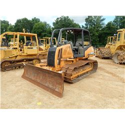 2007 CASE 850K WT CRAWLER TRACTOR, VIN/SN:CAL005643 - SERIES 2, 6 WAY BLADE, SWEEPS, CANOPY, REAR SC