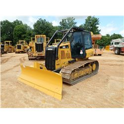 2015 CAT D4K2 LGP CRAWLER TRACTOR, VIN/SN:KRR00654 - 6 WAY BLADE, CAB, A/C, SWEEPS, METER READING 2,