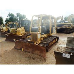 2005 KOMATSU D31PX-21 CRAWLER TRACTOR, VIN/SN:50689 - 6 WAY BLADE, CANOPY, SWEEPS, REAR SCREEN, METE