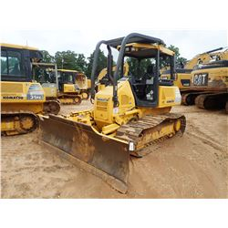 KOMATSU D31PX-22 CRAWLER TRACTOR, VIN/SN:60059 - 6 WAY BLADE, CANOPY, SWEEPS, REAR SCREEN, METER REA