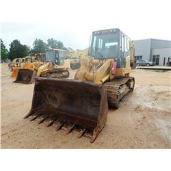 2006 JOHN DEERE 655C CRAWLER LOADER, VIN/SN:008253 - BUCKET, CAB, A/C, METER READING 8,185 HOURS