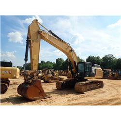 2015 CAT 349FL HYDRAULIC EXCAVATOR, VIN/SN:HPD00266 - 13' STICK, CAB, A/C, METER READING 7,735 HOURS