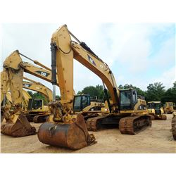 "2007 CAT 345CL HYDRAULIC EXCAVATOR, VIN/SN:PJW01801 - 11' STICK, 72"" BUCKET, CAB, A/C, METER READING"