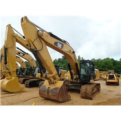 2015 CAT 336FL HYDRAULIC EXCAVATOR, VIN/SN:RKB01025 - 10' 6'' STICK, 66'' BUCKET, AUTO LUBE, REAR CA
