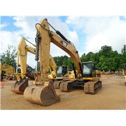 "2010 CAT 336DL HYDRAULIC EXCAVATOR, VIN/SN:W3K01183 - 10'-6"" STICK, 58"" BUCKET, CAB, A/C, METER READ"