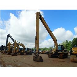 "CAT 325L LONG REACH HYDRAULIC EXCAVATOR, VIN/SN:7LM01239 - 60"" BUCKET, CAB, A/C, METER READING 14,50"