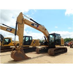 "2016 CAT 320EL RR HYD EXCAVATOR, VIN/SN:TFX01529 - 9'-6"" STICK, 36"" BUCKET, CAB, A/C, METER READING"