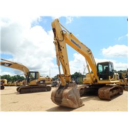 2012 KOMATSU PC200LC-8 HYDRAULIC EXCAVATOR, VIN/SN:A90909 - 9' 6'' STICK, 48'' BUCKET, REAR CAMERA,