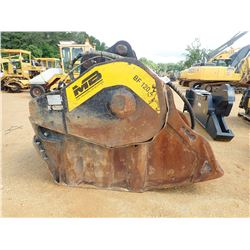 MB BF120-4 CRUSHER BUCKET, - MAGNET 400 +/- HOURS (FITS 350 SIZE EXCAVATOR & UP)