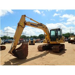 "2011 KOMATSU PC130-8 HYDRAULIC EXCAVATOR, VIN/SN:83105 - 8' 3"" STICK, 36"" BUCKET, CAB, A/C, METER RE"