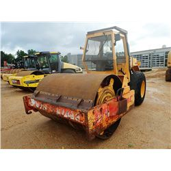 """DYNAPAC CA25 IID ROLLER, VIN/SN:5751248 - VIBRATORY, 84"""" SMOOTH DRUM, CANOPY, METER READING 5,061 HO"""