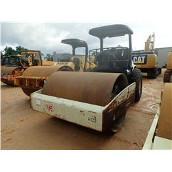 "INGERSOLL RAND SD100D TF ROLLER, VIN/SN:191156 - VIBRATORY, 84"" SMOOTH DRUM, CANOPY, METER READING 1"
