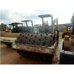 """INGERSOLL-RAND SD-100F ROLLER, VIN/SN:10328 - VIBRATORY, 84"""" PADFOOT DRUM, PRO PAC, CANOPY, METER RE"""