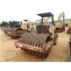 """DYNAPAC CA151PD ROLLER, VIN/SN:59811031 - VIBRATORY, 68"""" PAD FOOT DRUM, CANOPY, METER READING 2,313"""