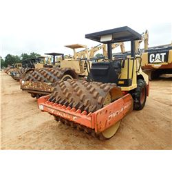 """2004 DYNAPAC CA152PD VIBRATORY ROLLER, VIN/SN:64321414 - 68"""" PADFOOT DRUM, CANOPY, METER READING 1,5"""