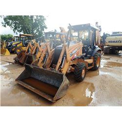 2012 CASE 580N LOADER BACKHOE, VIN/SN:JJGN580NPCC560534 - 4X4, E-STICK, BUCKET, REAR AUX HYD, CANOPY