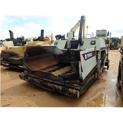 TEREX CR461 ASPHALT PAVER, VIN/SN:47177 - CRAWLER, 10-20' SCREED, METER READING 9,267 HOURS
