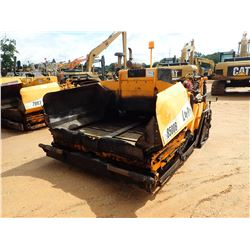 2011 LEEBOY 8500B ASPHALT PAVER, VIN/SN:70599 - 8'-15' SCREED, METER READING 2,381 HOURS
