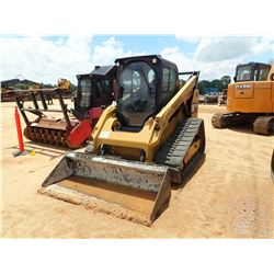 2017 CAT 299D2 SKID STEER LOADER, VIN/SN:FD202539 - CRAWLER, HIGH FLOW XPS, TWO SPEED, BUCKET, CAB,