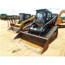 2014 CAT 299D SKID STEER LOADER, VIN/SN:GTC01011 - CRAWLER, HIGH FLOW, BUCKET, REARVIEW CAMERA CAB,