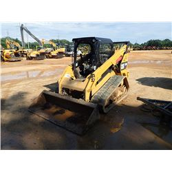 2016 CAT 289D SKID STEER LOADER, VIN/SN:TAW05669 - CRAWLER, BUCKET, TWO SPEED, REAR COUNTER WEIGHTS,