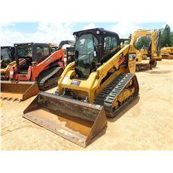 2015 CAT 279D SKID STEER LOADER, VIN/SN:GTL02094 - CRAWLER, TWO SPEED, BUCKET, CAB, A/C, METER READI
