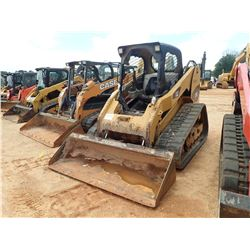 2010 CAT 279C SKID STEER LOADER, VIN/SN:MBT01424 - CRAWLER, BUCKET, CANOPY, METER READING 5,023 HOUR
