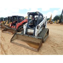 2012 BOBCAT T650 SKID STEER LOADER, VIN/SN:A3P014883 - CRAWLER, BUCKET, CANOPY, METER READING 1,480