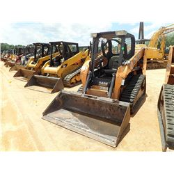 2014 CASE TR270 SKID STEER LOADER, VIN/SN:NEM482646 - CRAWLER, BUCKET, CANOPY, METER READING 691 HOU