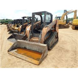 2012 CASE TR270 SKID STEER LOADER, VIN/SN:NCM458470 - CRAWLER, 2 SPD, BUCKET, CANOPY, METER READING