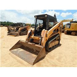 2012 MUSTANG 1750RT SKID STEER LOADER, VIN/SN:30735 - CRAWLER, BUCKET, 2 SPEED, CANOPY, METER READIN