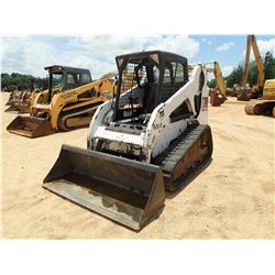 BOBCAT T190 SKID STEER LOADER, VIN/SN:519314566 - CRAWLER, BUCKET, CANOPY, METER READING 2,011 HOURS