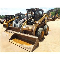 2005 CAT 248B SKID STEER LOADER, VIN/SN:SCL00744 - WHEELED, BUCKET, CANOPY