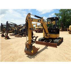 """2012 CAT 304ECR MINI EXCAVATOR, VIN/SN:TTN00483 - 4'6"""" STICK, 22"""" BUCKET, HYD THUMB, AUX HYD, RUBBER"""