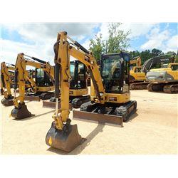 "2016 CAT 303.5E2 CR MINI EXCAVATOR, VIN/SN:JWY00844 - 5' STICK, 24"" BUCKET, AUX HYD, RUBBER TRACKS,"