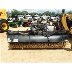 CAT BA25 BROOM, VIN/SN:7AW01616 - FITS TELEHANDLER (UTILITY COMPANY OWNED)