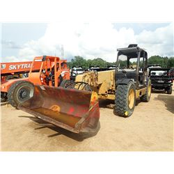 CAT TH63 TELESCOPIC FORKLIFT, VIN/SN:5WM06916 - 6000LB CAPACITY, 42' REACH, BUCKET, FORKS, CANOPY, M