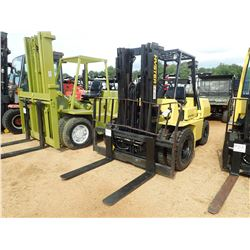 HYSTER 80 FORKLIFT, VIN/SN:62985 - TRIPLE STAGE MAST, CANOPY
