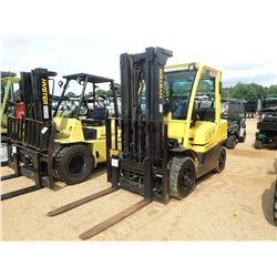HYSTER 80 FORKLIFT, VIN/SN:P005V04997J - 7,900# CAPACITY, TRIPLE STAGE MAST, CANOPY, METER READING 1