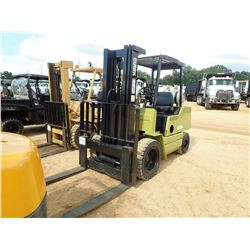 CLARK FORKLIFT, VIN/SN:401A - TRIPLE STAGE MAST, CANOPY