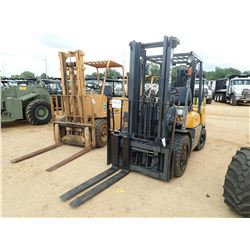 TCM FD30Z5T FORKLIFT, VIN/SN:A32M77723 - DIESEL ENGINE, 5,600LB CAPACITY, DOUBLE STAGE MAST, CANOPY,