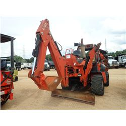 DITCH WITCH RT115H TRENCHER, VIN/SN:5Y0203 - H932 VIBRATORY PLOW, BACKHOE ATTACH, BLADE, CANOPY, MET