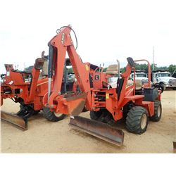 DITCH WITCH RT55 TRENCHER, VIN/SN:90000501 - 4X4, DITCH WITCH A523 BACKHOE ATTACH, DITCH WITCH H515