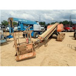 JLG 600SC MANLIFT, VIN/SN:300057034 - CRAWLER, 1,000# CAP, 60' HEIGHT, 49' REACH, METER READING 3,67